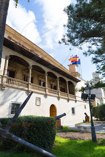 Mallorca Consulado de Mar beside Lonja in Palma of Majorca Balearic island at Spain photo