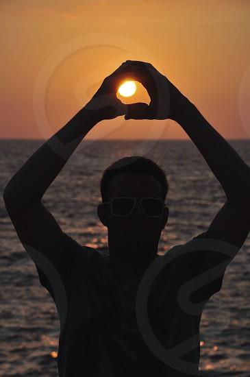 Catching the sun! photo