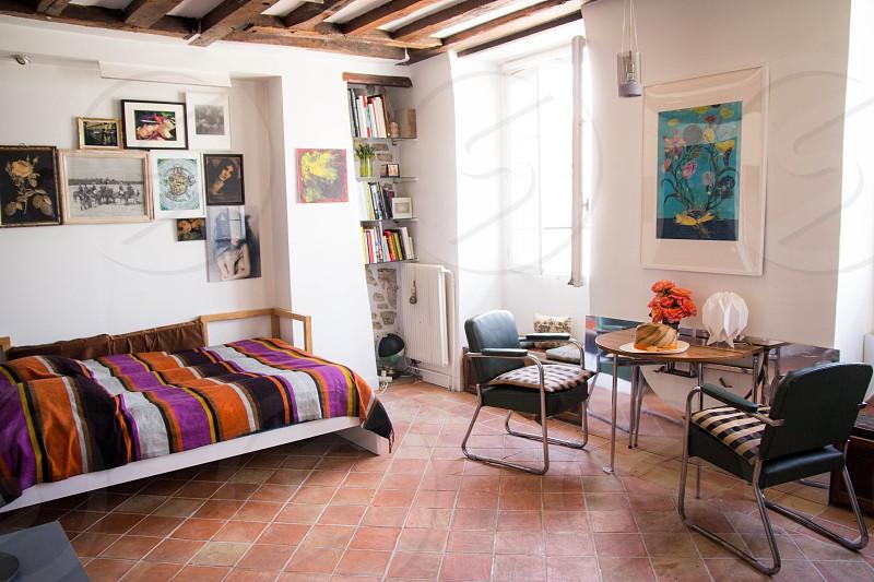 interior design air bnb paris loft decor decorating apartment studio photo