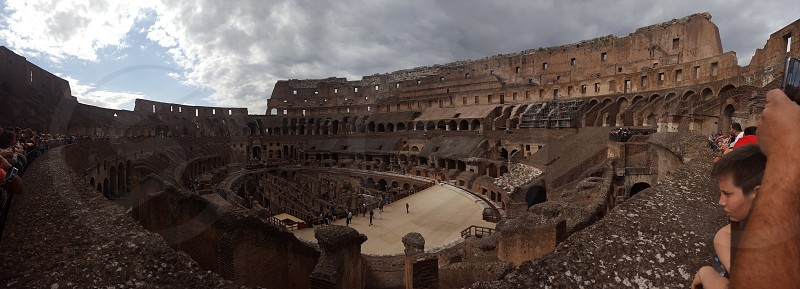 The Colosseum Italy photo