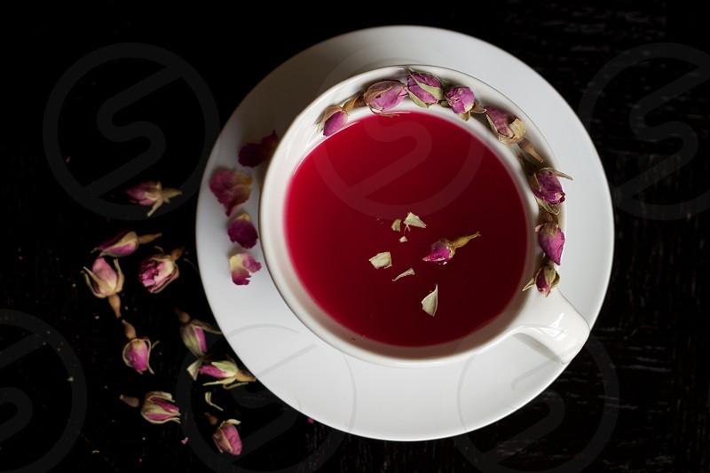 Rose tea photo