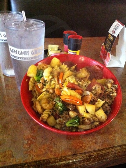 Genghis grill food  photo