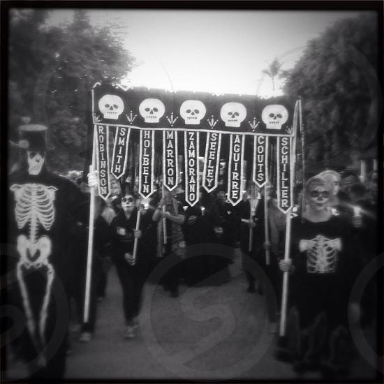 Dia de Los Muertos procession Old Town San Diego CA photo