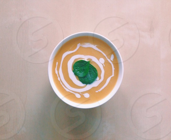 Favourite winter meal pumpkin soup! photo