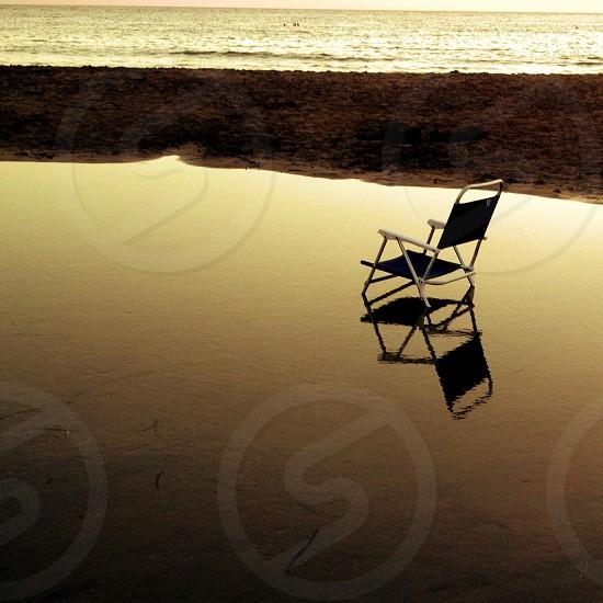 chair silhouette photo
