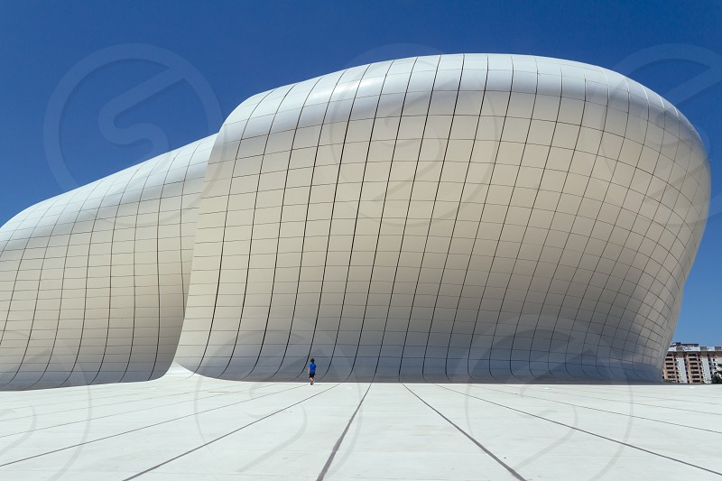 Haydar Aliyev Cultural Center Baku Azerbaijan photo