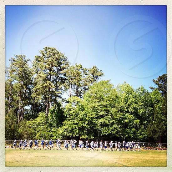Lacrosse team photo