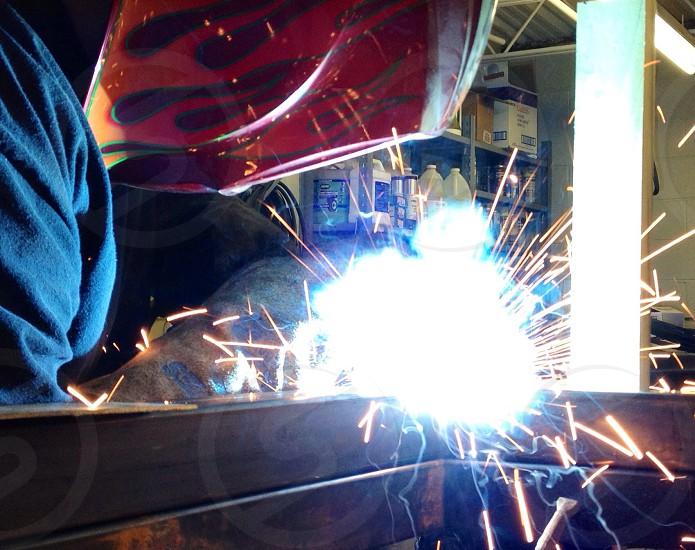 Welding building miller photo