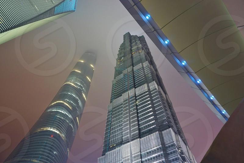 Jin Mao Tower - Pudong Shanghai photo