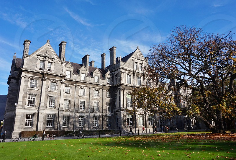 Trinity College in Dublin Ireland photo