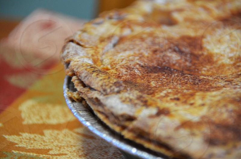 top of pie crust photo
