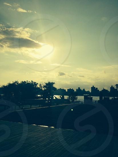 Brooklyn Williamsburg East River sunset nature calm photo