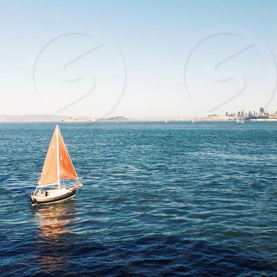Sailboat on San Francisco Bay! photo