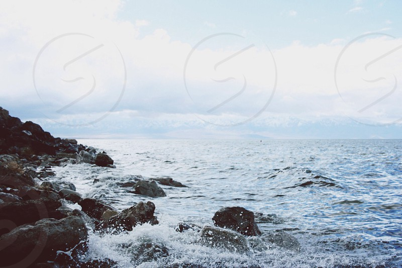 Great salt lake photo