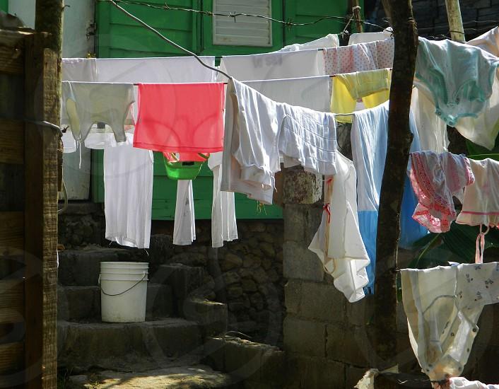 Laundry line photo