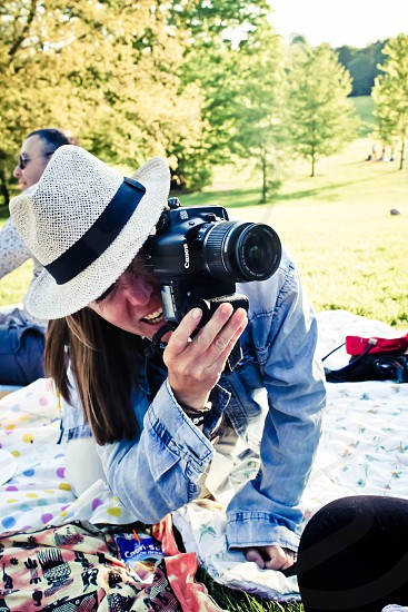 Photographer taking a photo London photo