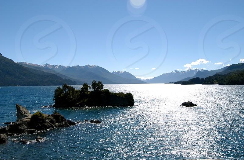 Argentina Lake & Mountains photo