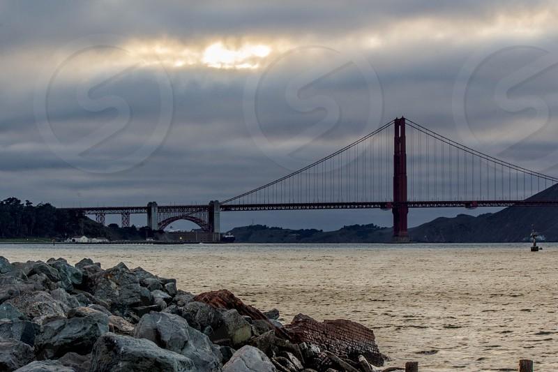 golden gate bridge photo photo