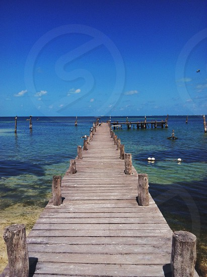 beach boat dock photo