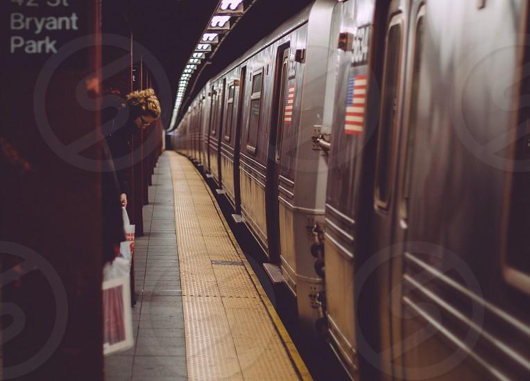 bryant park subway station  photo