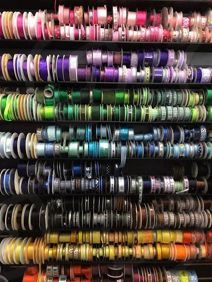 ribbon display photo