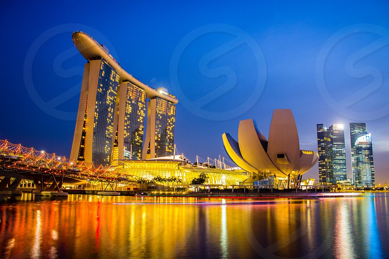 singapore Marina bay photo