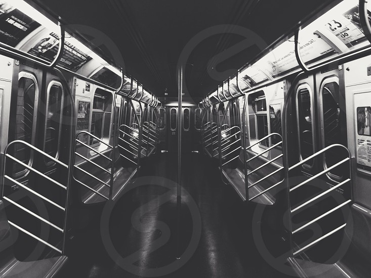 siilver train seats photo