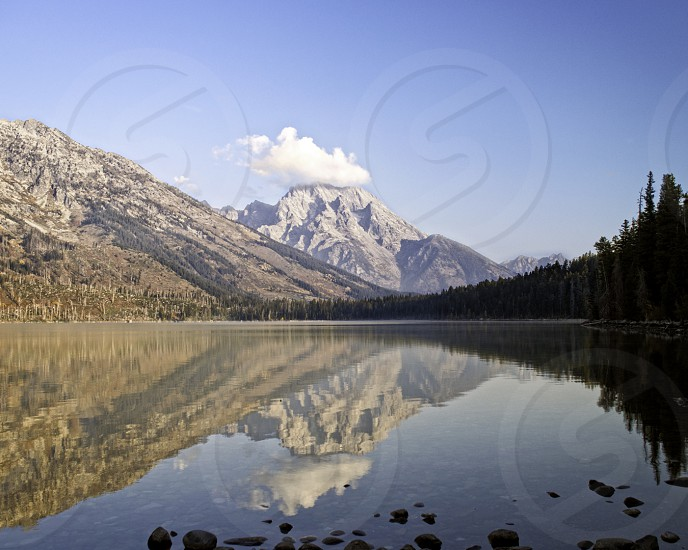 Jenny Lake Grand Tetons National Park WY photo