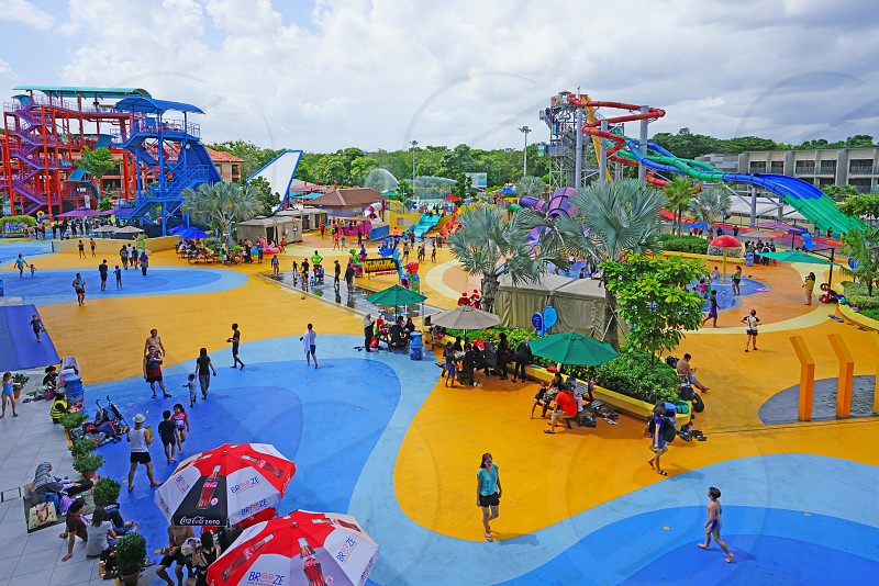 Wild Wild Wet water park in Singapore photo