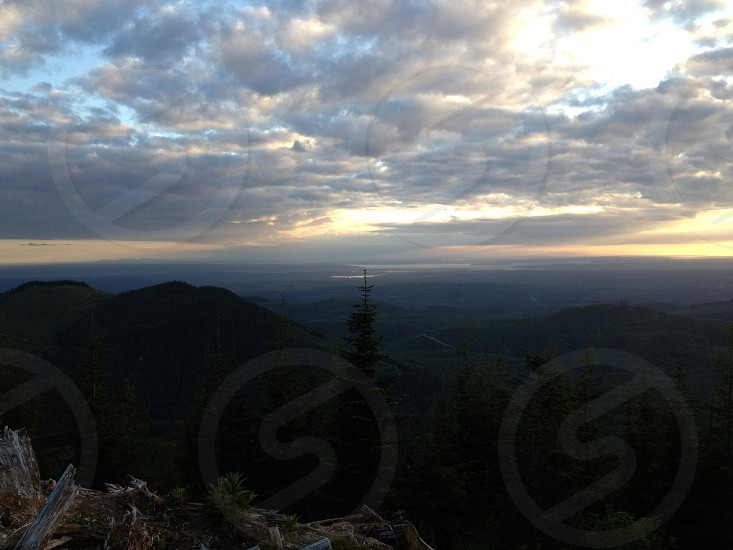 View from Mt. Pilchuck Washington State PNW photo