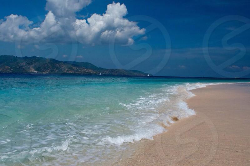 Beach Gili Air Lombok Indonesia photo