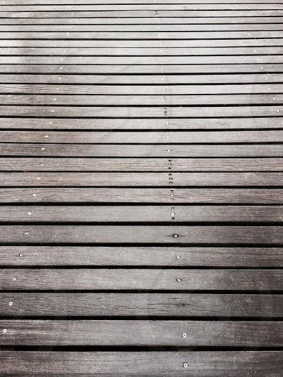 Deck fade photo