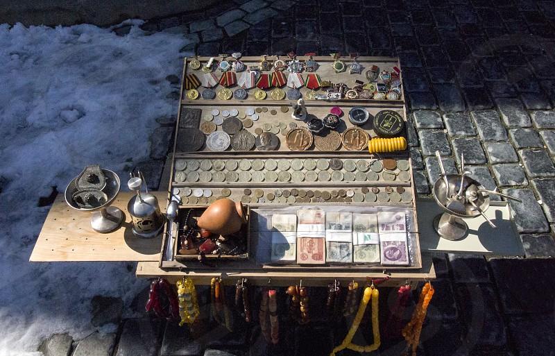 Old Vintage Soviet Era Things Soviet Coins and Money Numismatics photo