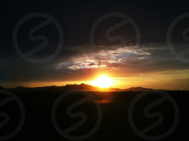 sunset photo photo