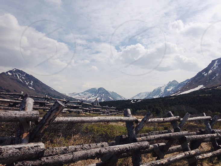 My beautiful backyard: Alaska.  photo