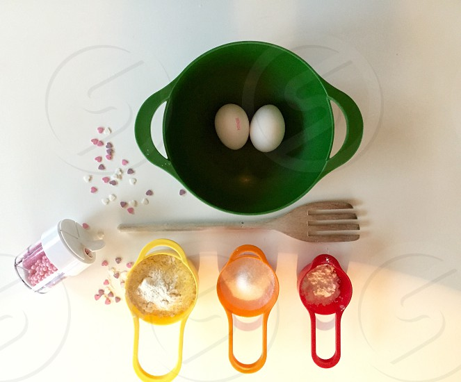 baking soda 2 eggs photo