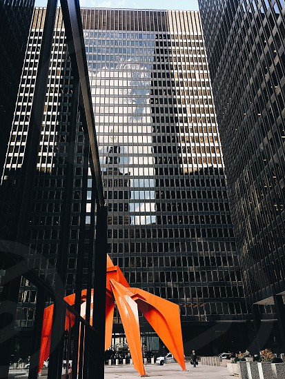 Architecture city Chicago structure beauty colors bright photo