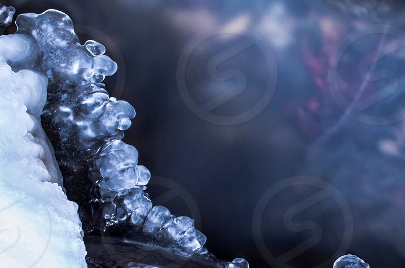 ice water winter photo