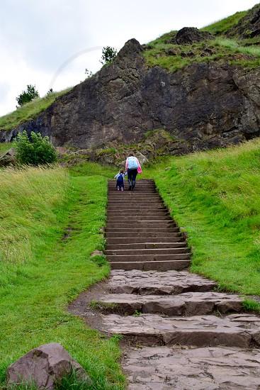 Travel adventure Scotland's Arthur's Seat photo