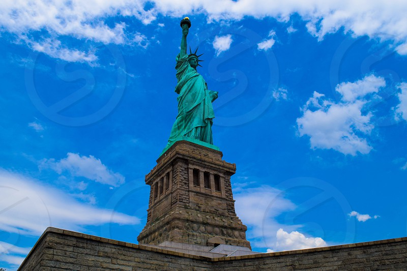 New York City liberty island photo
