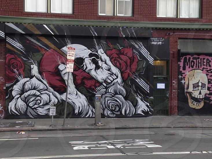 Graffiti. San Francisco.  photo