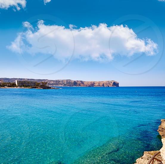 javea Xabia and San Antonio Cape in Alicante of Mediterranean Spain photo