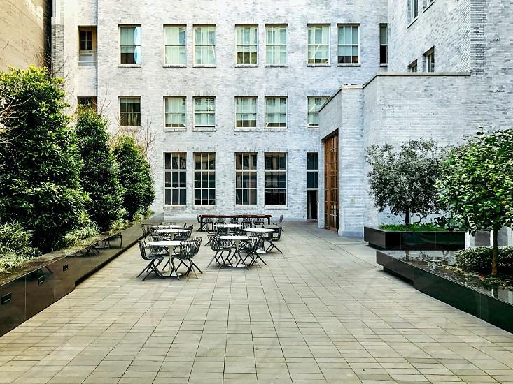 Courtyard.  photo