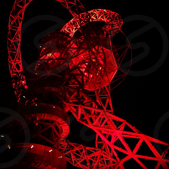 ArcelirMittal Orbit - Queen Elizabeth Olympic Park Stratford East London photo