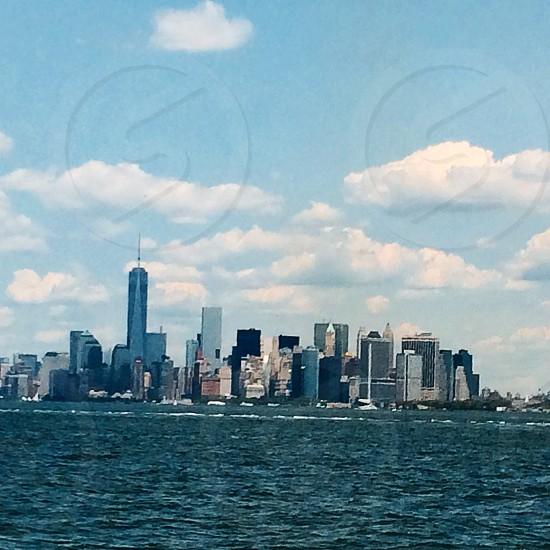 photo of coastal city photo