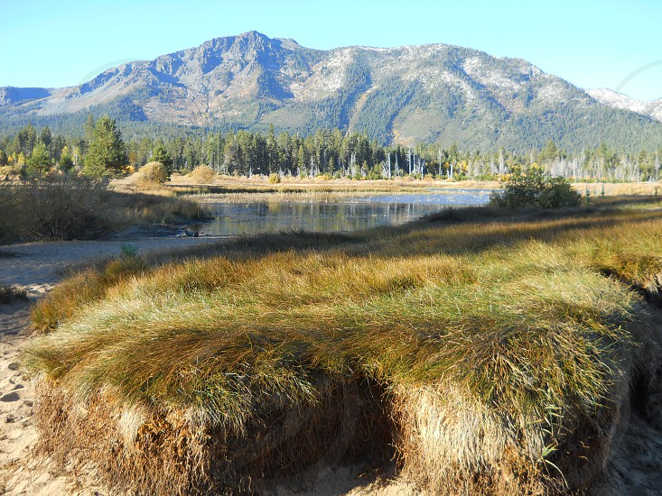 Scenic Lake Tahoe Nevada photo