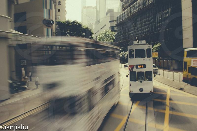 HongKong Bus  photo