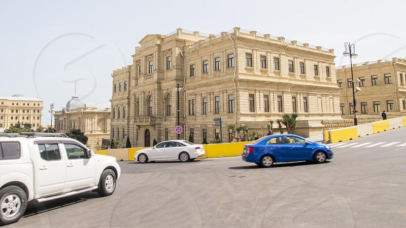 Azerbaijan Baku National Art Museum. photo