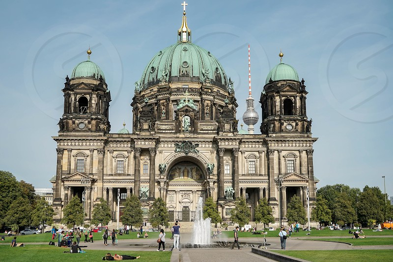 View of the Cathedral in Berlin photo