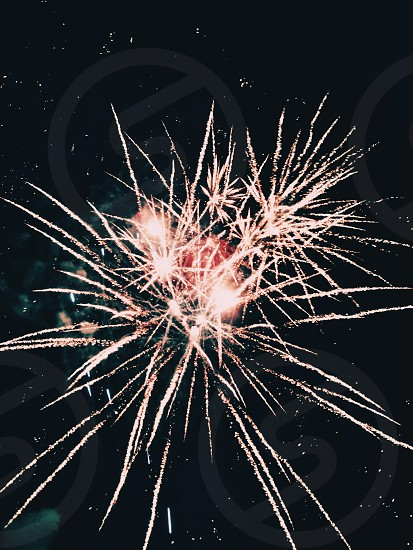 fire works display photo